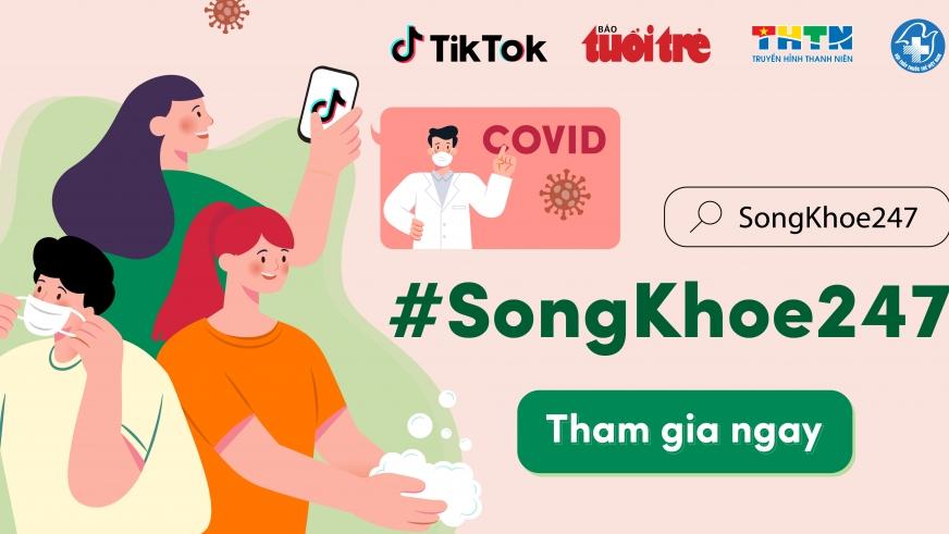 TikTok đồng hành cùng Hội Thầy thuốc trẻ Việt Nam đẩy mạnh chiến dịch #SongKhoe247