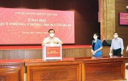 Hà Nội hưởng ứng mua vắc xin cho thành phố 1.000 tỷ đồng và ủng hộ Quỹ Vắc xin 100 tỷ đồng